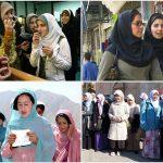 Fara hijab sau baticuri la servici