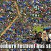 Glastonbury Festival has started