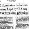 Fostul director CIA acuza Rusia de dezinformare