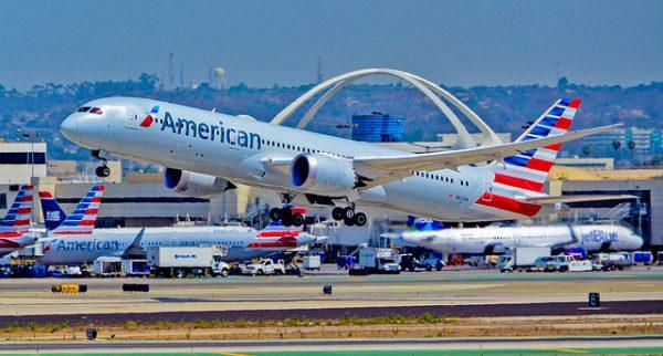 Avion de la American Airlines Boeing 787-9 Dreamliner