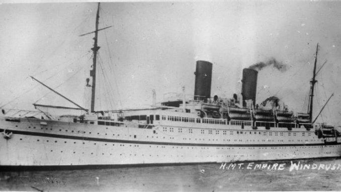 Empire Windrush, inițial MV Monte Rosa, a fost o navă de croazieră lansată în Germania în 1930. În anii 1930 a funcționat ca nava de croazieră germană sub numele de Monte Rosa. În timpul celui de-al doilea război mondial, ea a fost operată de marina germană ca navă de trupe. A fost achiziționată de Regatul Unit ca un premiu de război la sfârșitul războiului și a fost redenumită Empire Windrush.