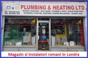 Magazin romanesc de instalatii sanitare, centrale, termice, plumbing, Ingineri de gaz, Instalatori romani din Londra