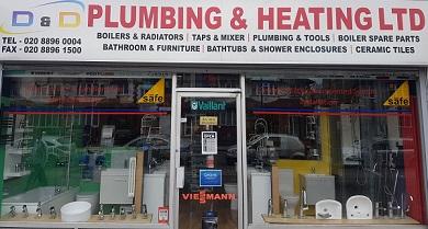 Magazin de materiale sanitare si instalatori romani in Londra
