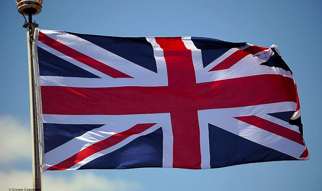 Steagul Regatului Unit este numit The Union Jack Flag