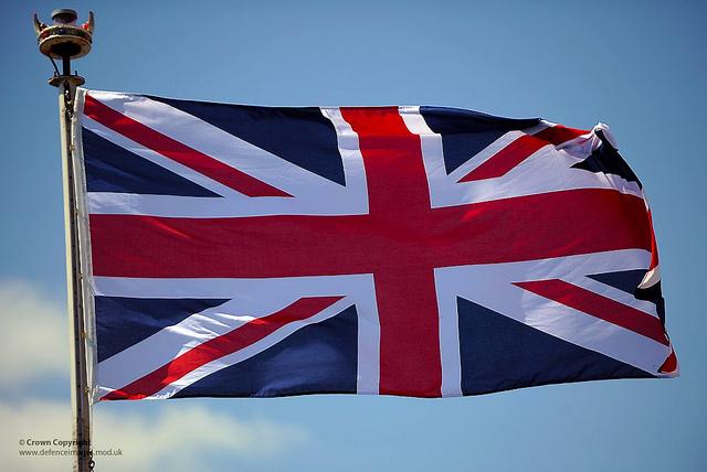 Steagul Regatului Unit este numit The Union Jack Flag