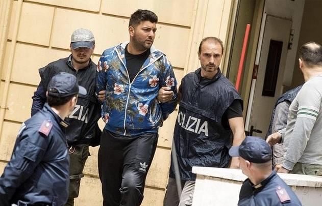 Antonio Casamonica in arestul politiei