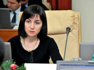 Maia Sandu, prim-ministru al Republicii Moldova