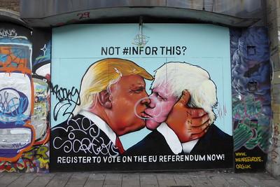 Donald Trump si Boris Johnson au devenit prieteni. Pentru moment.